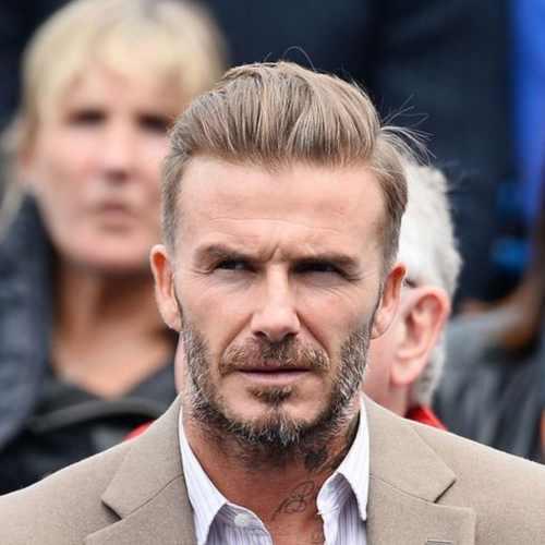 david beckham 2018 hairstyle