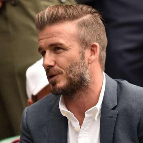 david beckham haircut skin fade side part haircut