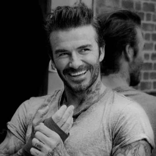 david beckham hairstyle undecut haircut