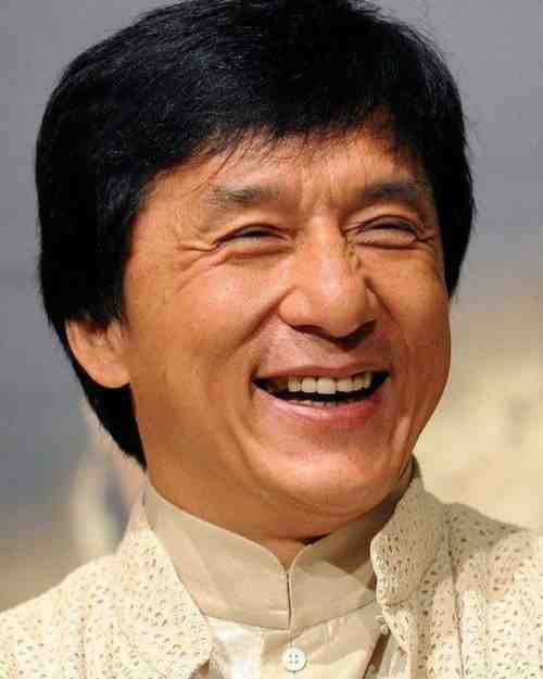 jackie chan black hair new hairstyle
