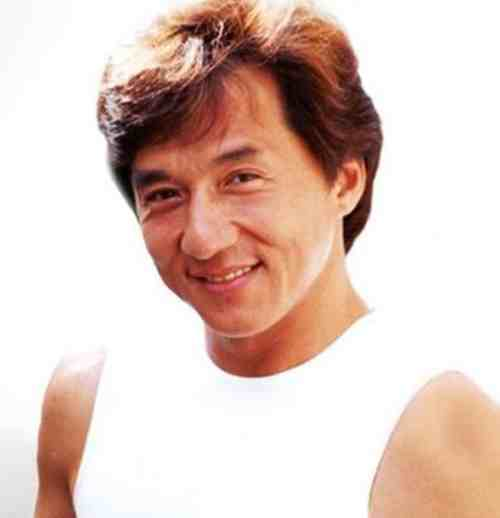 jackie chan hair color