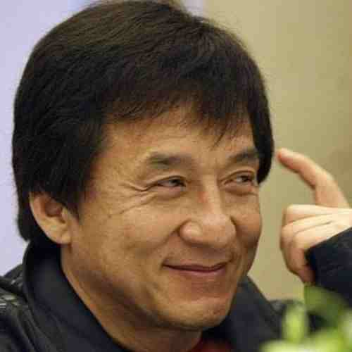 jackie chan hair commercial