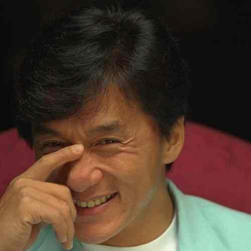jackie chan hairdresser