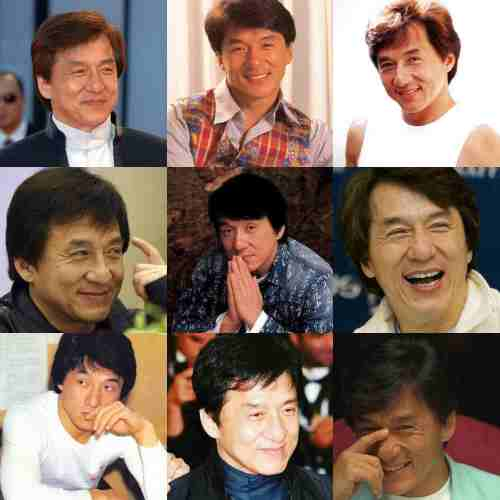 jackie chan hairstyle