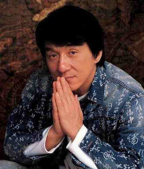 jackie chan handsome haircut