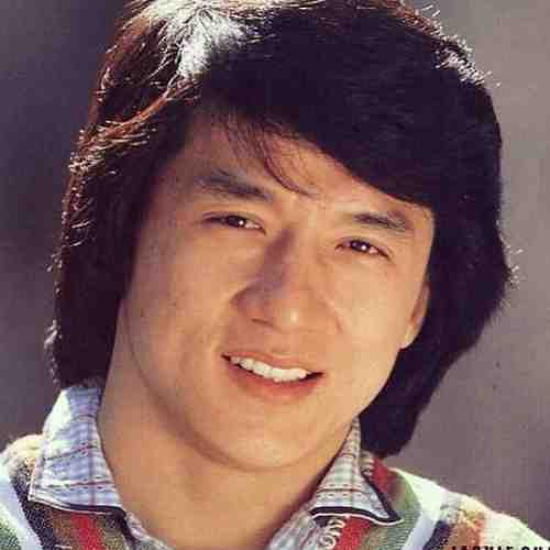 jackie chan long hair