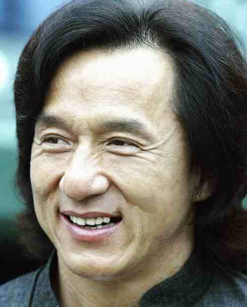 jackie chan long hairstyle