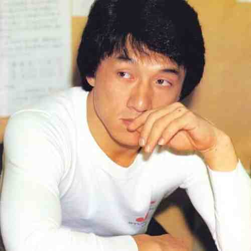 jackie chan young haircut