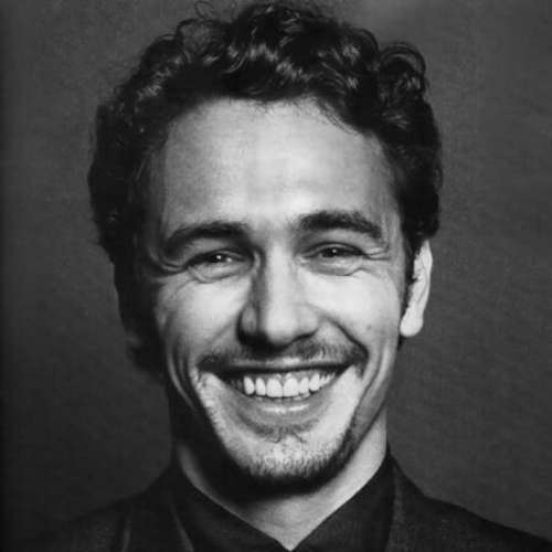 james franco haircut curly messy