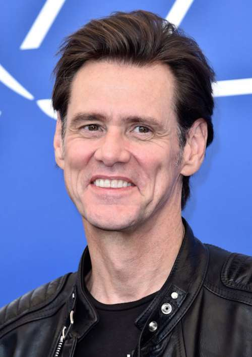 jim carrey medium length haircut