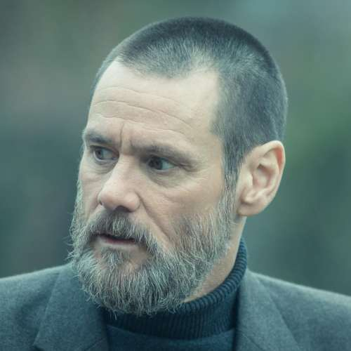 jim carrey new hairstyle with beard