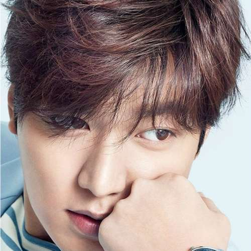 lee min ho messy dry hair