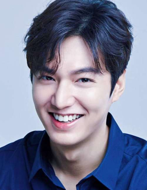 lee min ho side part haircut