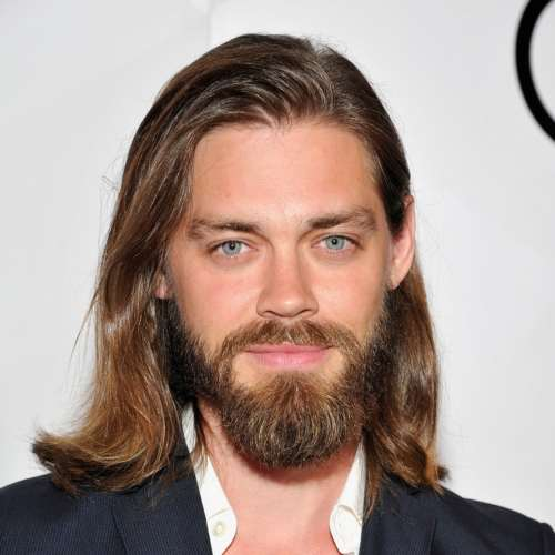 rami malek long hairstyles with beard