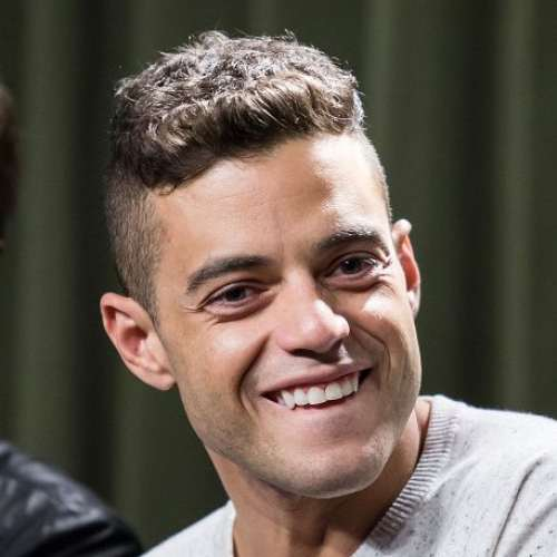 rami malek new mr robot haircuts