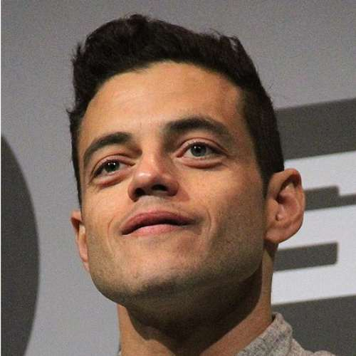 rami malek short haircut mr robot haircut