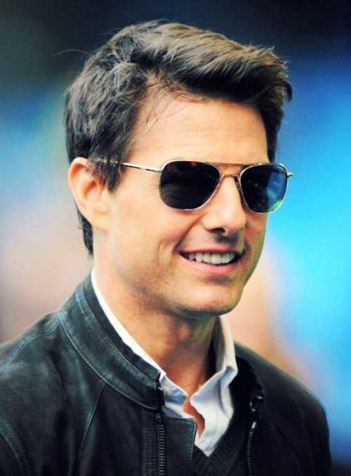 tom cruise in public haircut