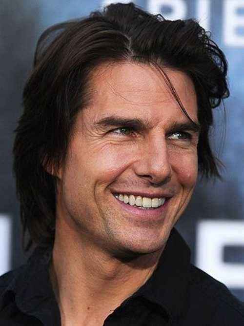 tom cruise long length hairstyle