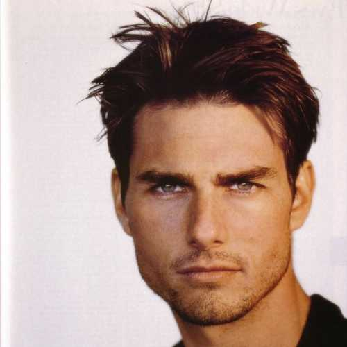 tom cruise messy layers hairstyles