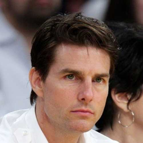 tom cruise top gun medium length hairstyle