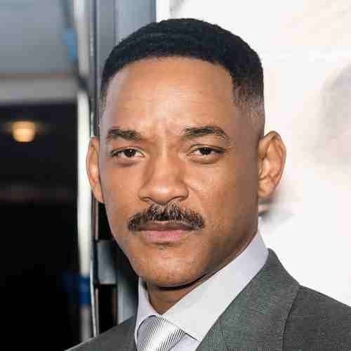 will smith mustache