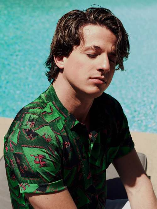 charlie puth hairstyle in how long