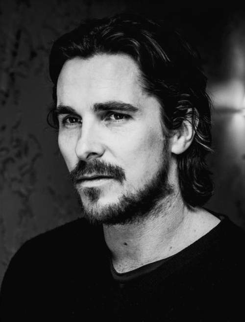christian bale long hair 2018