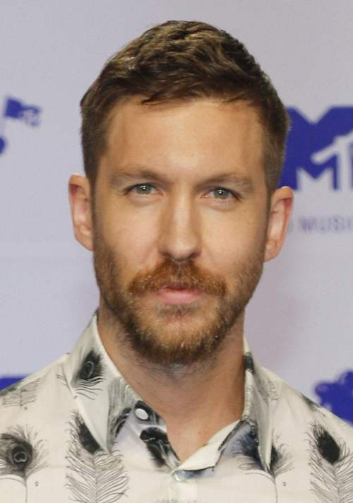 calvin harris haircut