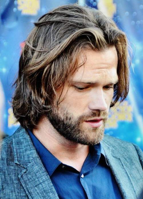 Jared Padalecki Hairstyle Sam Winchester Haircut Men S