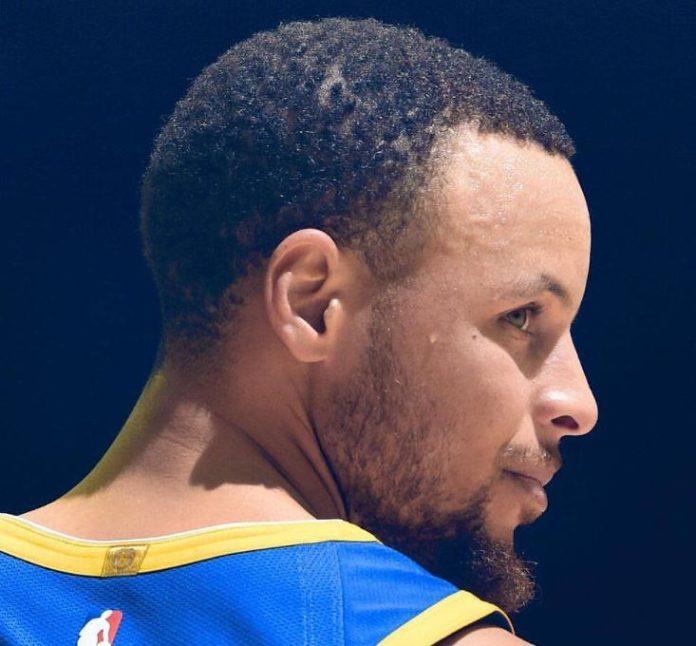 Stephen Curry short haircut blowout haircut