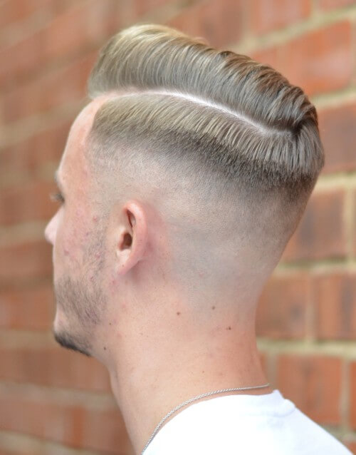 modern men hairstyles with bald fade hairstyle high skin fade