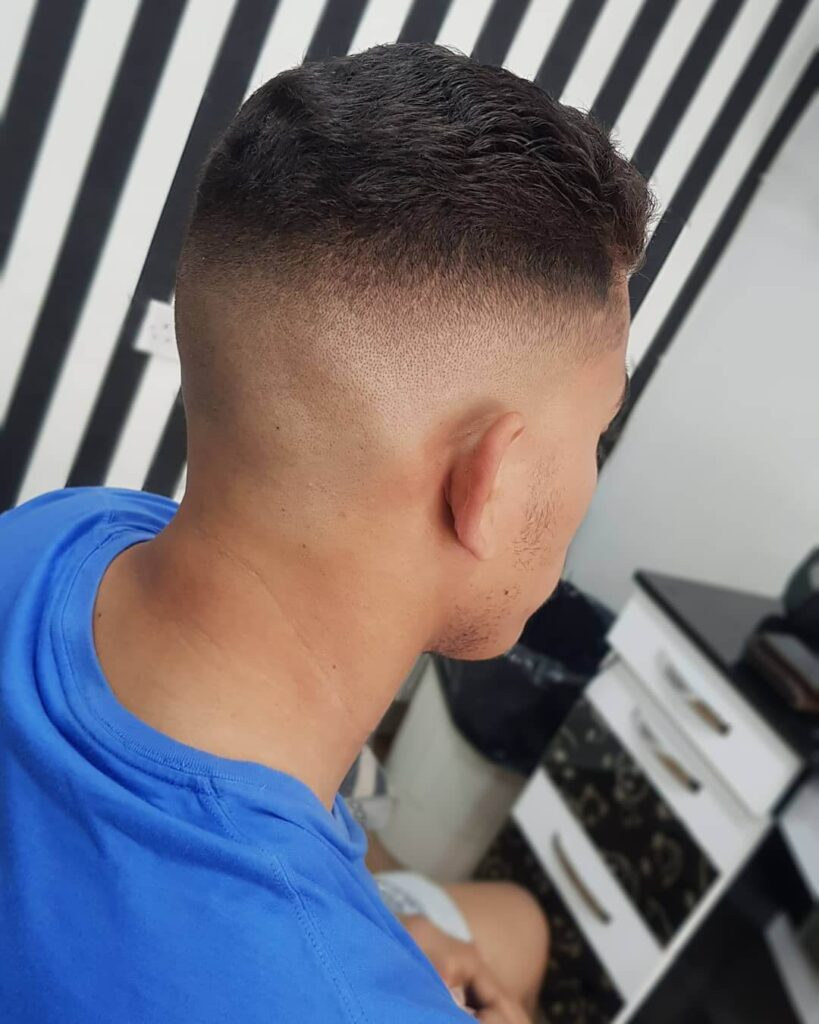 sistherobarber bald fade haircut
