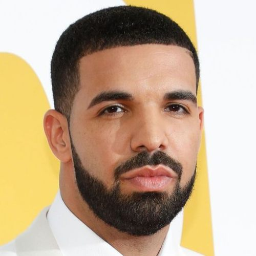 drake haircut line with beard