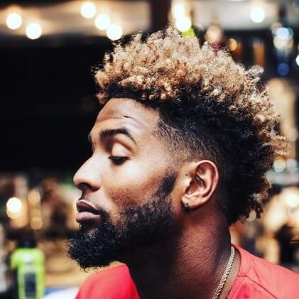 how does odell beckham get his hair curly