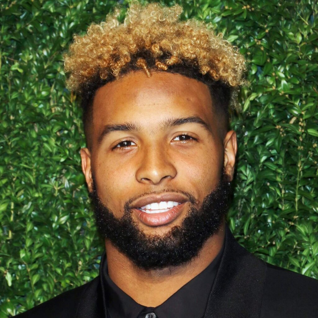 odell beckham hair with curly mohawk hairstyle