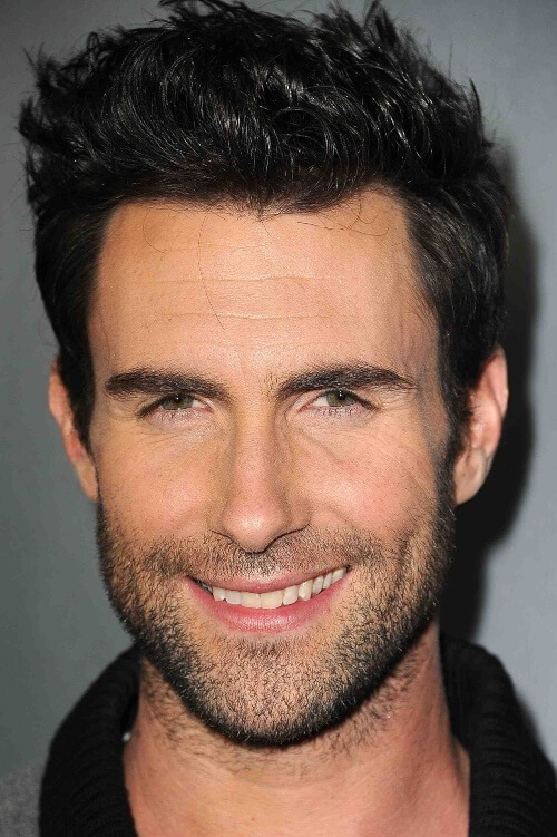 adam levine black hairstyle