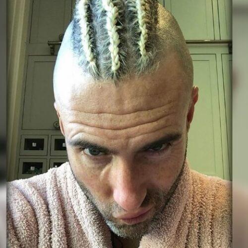 adam levine braids