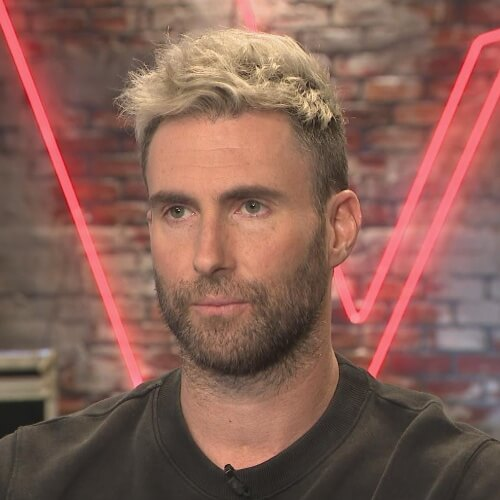 adam levine fade side part haircut
