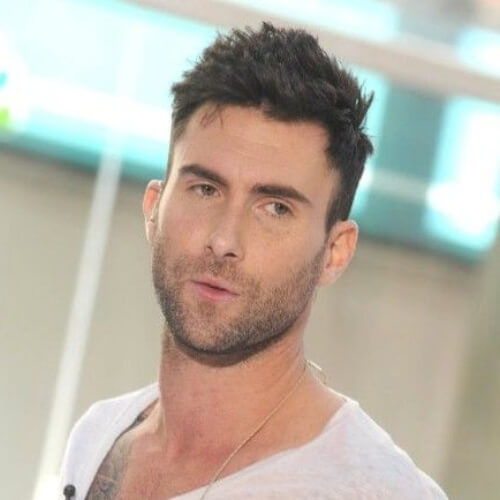 adam levine handsome haircut
