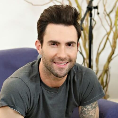 adam levine new haircut