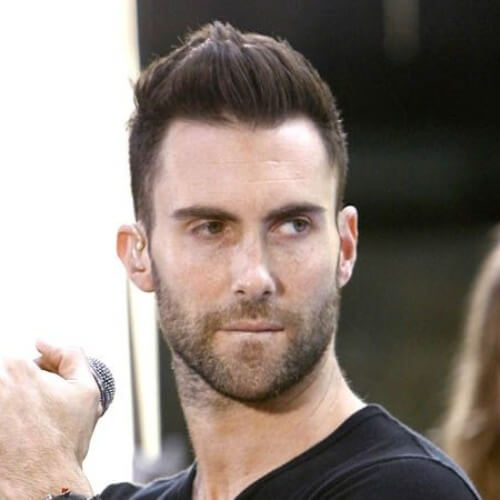 adam levine short haircut