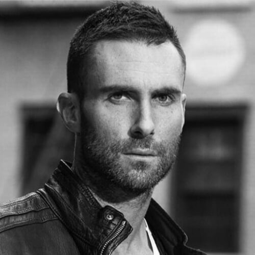 adam levine short hairstyle