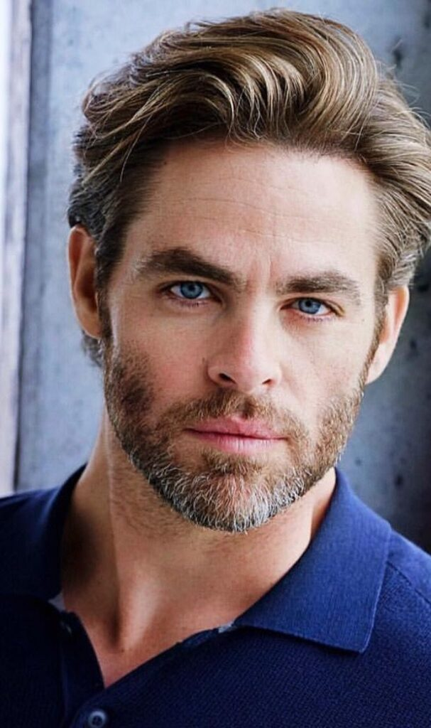 chris pine best how to style hair like chris pine