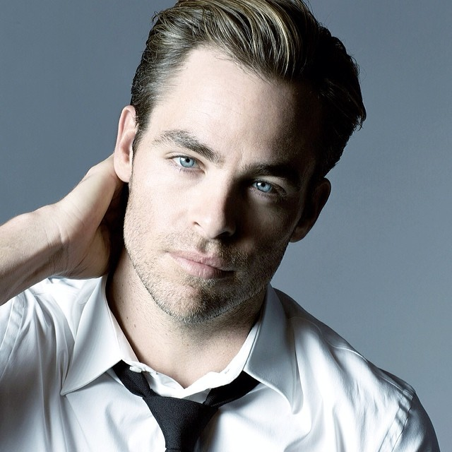 chris pine haircut