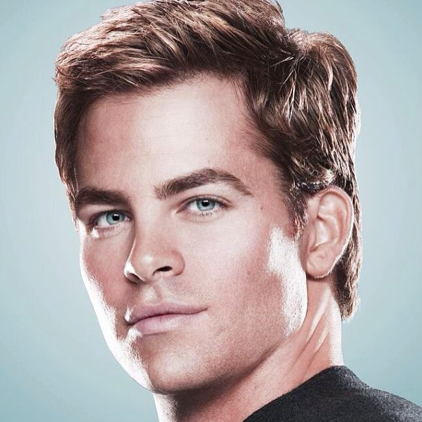 chris pine haircuts
