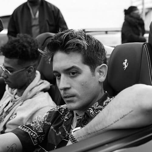 g eazy new haircut