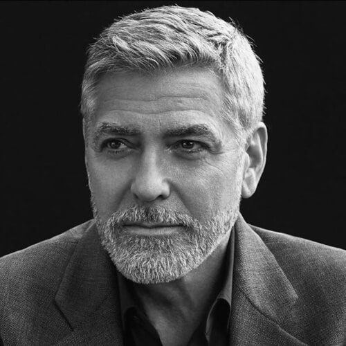 george clooney latest haircut