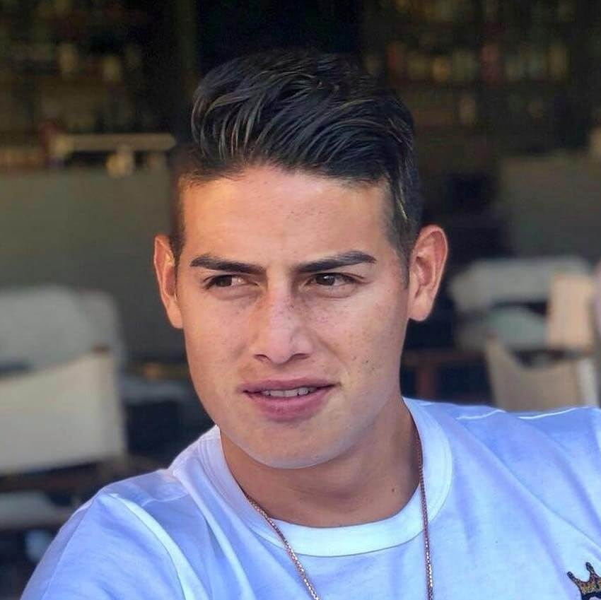 james rodriguez hairstyles