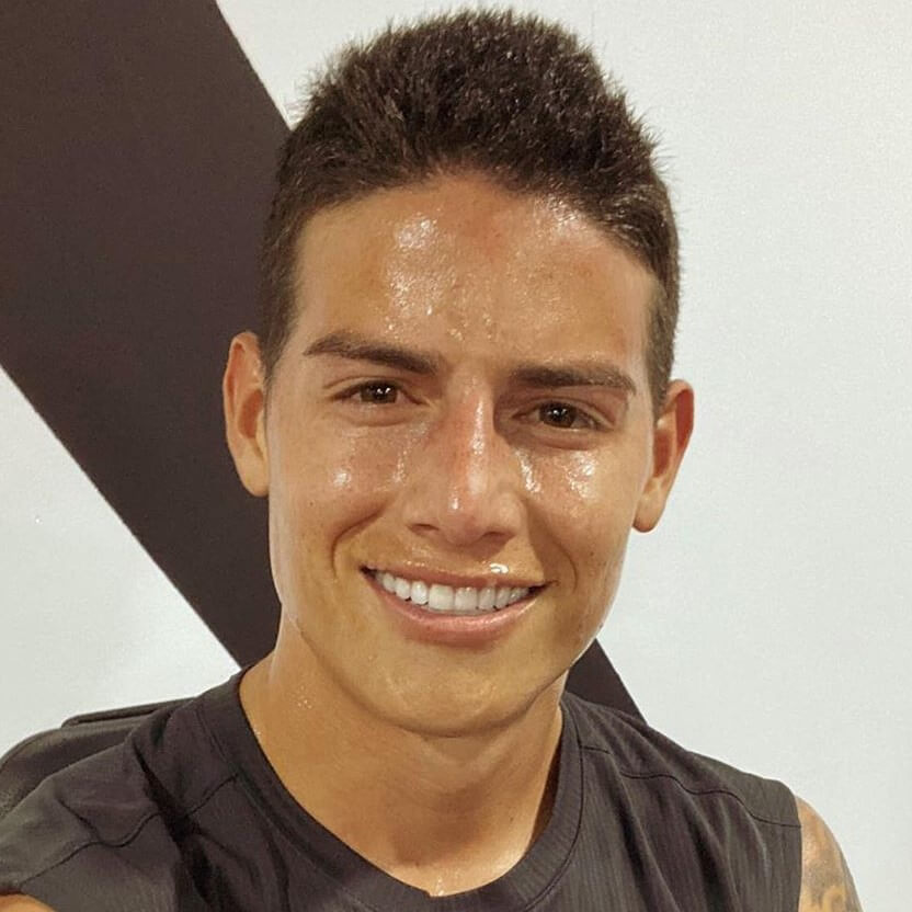 james rodriguez little hair style