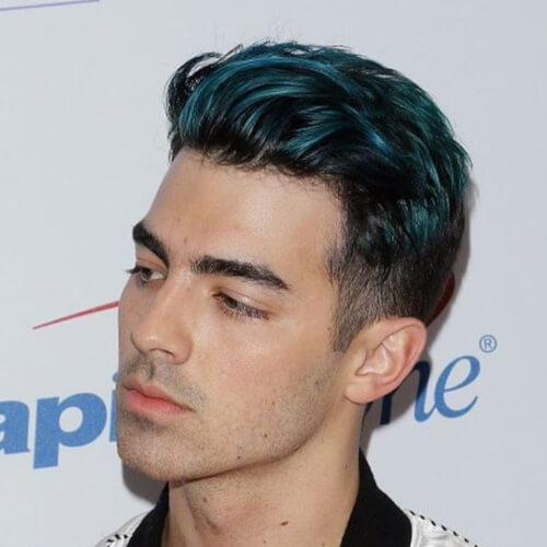 joe jonas color hair